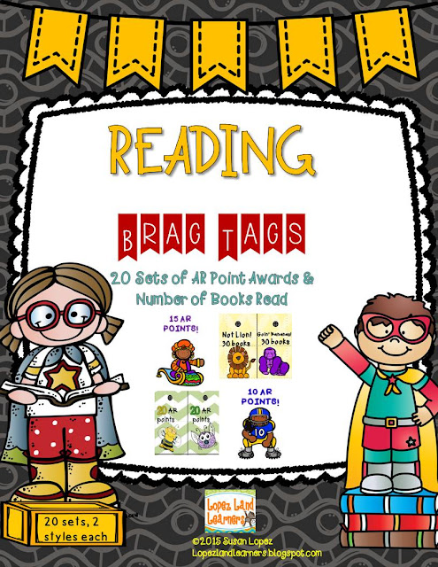 https://www.teacherspayteachers.com/Product/READING-BRAG-TAGS-FOR-ACCELERATED-READERS-and-BEYOND-1995388
