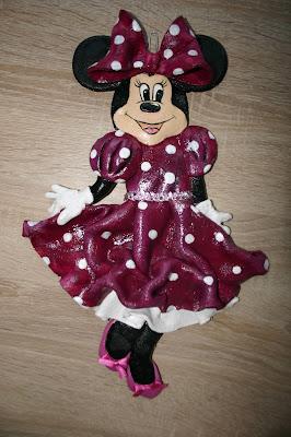 Urodzinowe, ślubne i na inne okazje :) oraz myszka mini z masy solnej