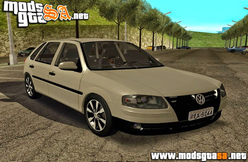 SA - Vw Gol Power G4 2004 com Roda G6