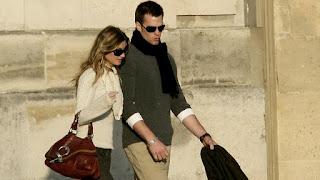 Tom Brady and Gisele Bundchen in Paris