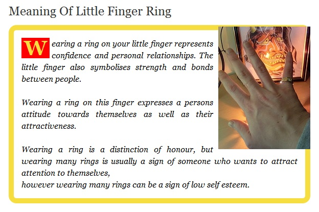 Soni Kuri Adventures Fingers Rings And Meanings