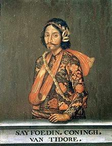 sultan saifuddin - sejarah kerajaan islam tidore