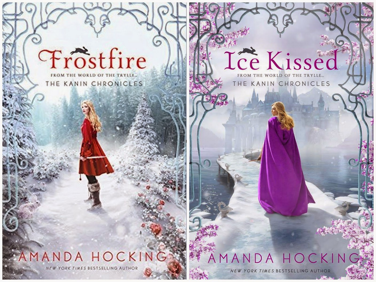 And ice kissed the kanin chronicles 1 and 2 by amanda hocking ya