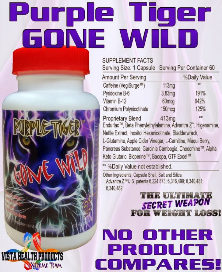 Purple Tiger Gone Wild