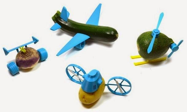 Open Toys con verdure