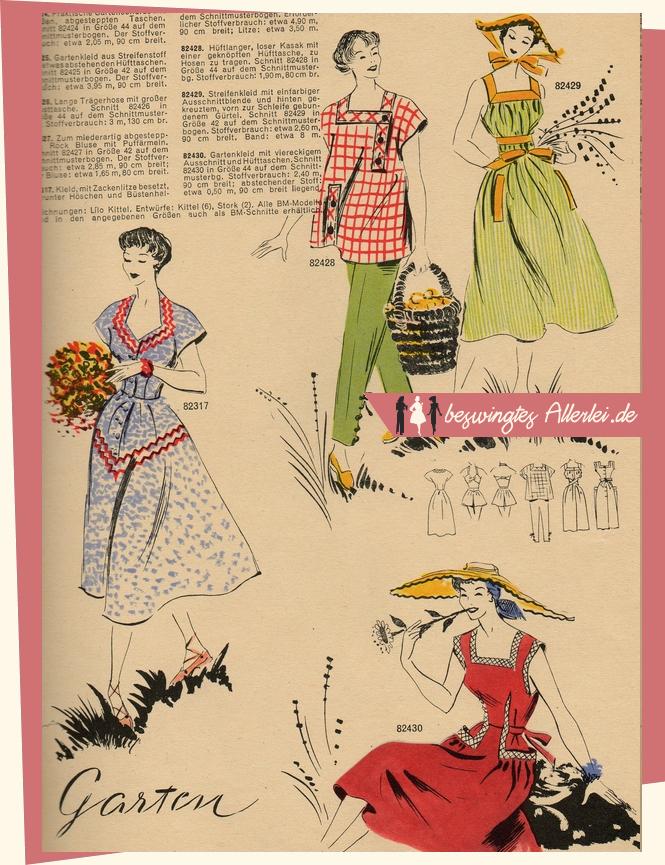 Gartenarbeit und Mode