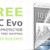 FREE ViewGuard HTC ONE Screen Protector