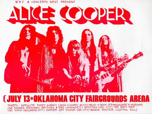 Fairgrounds Arena, Oklahoma City, Oklahoma 13th July 1971