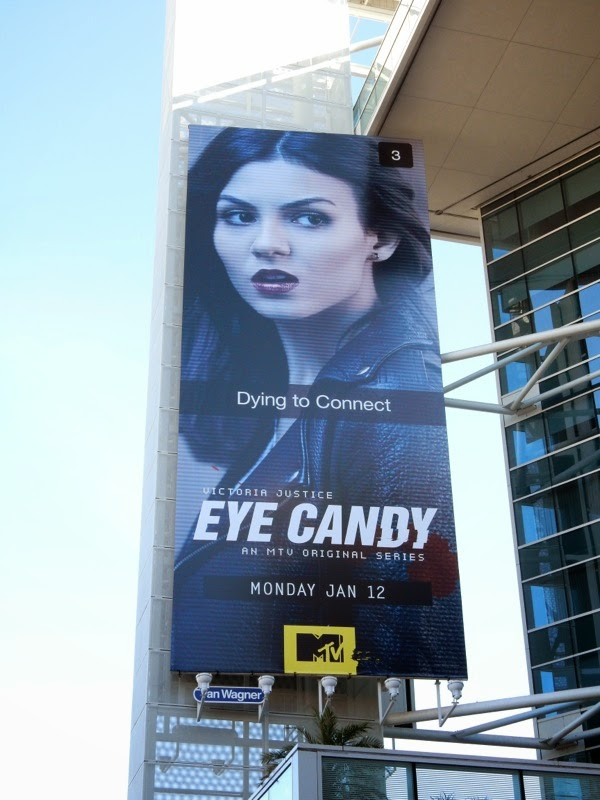 Eye Candy MTV series premiere billboard