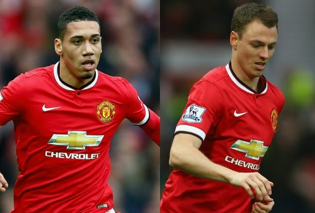 Arsenal eyeing Manchester United duo Chris Smalling and Jonny Evans