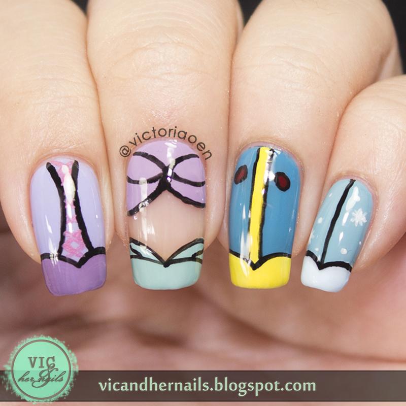Disney Princess Nails: Vic And Her Nails: VicCopycat