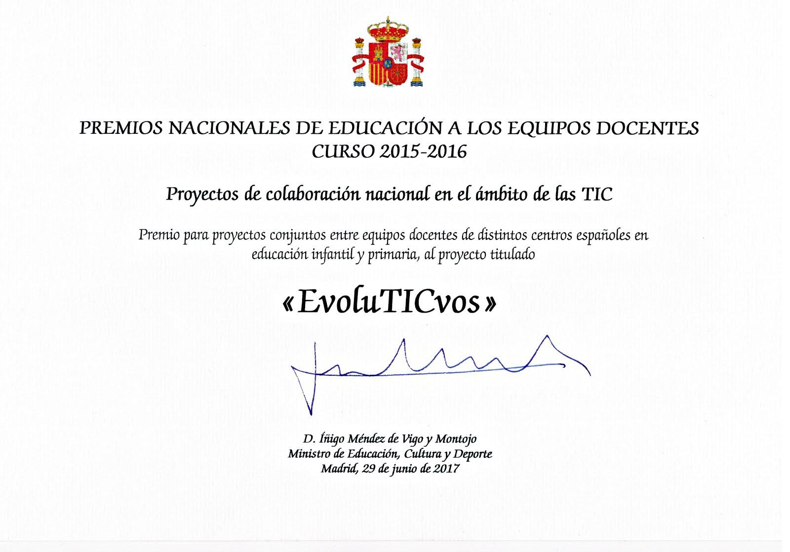 Premio Nacional MECD
