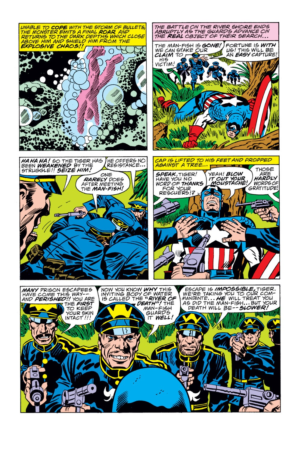 Captain America (1968) Issue #208 #122 - English 5