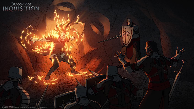 Dragon Age Inquisition Tear Jerker