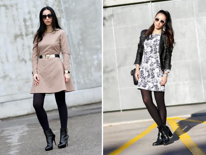 Resumen outfits mes de Febrero blogger moda withorwithoutshoes