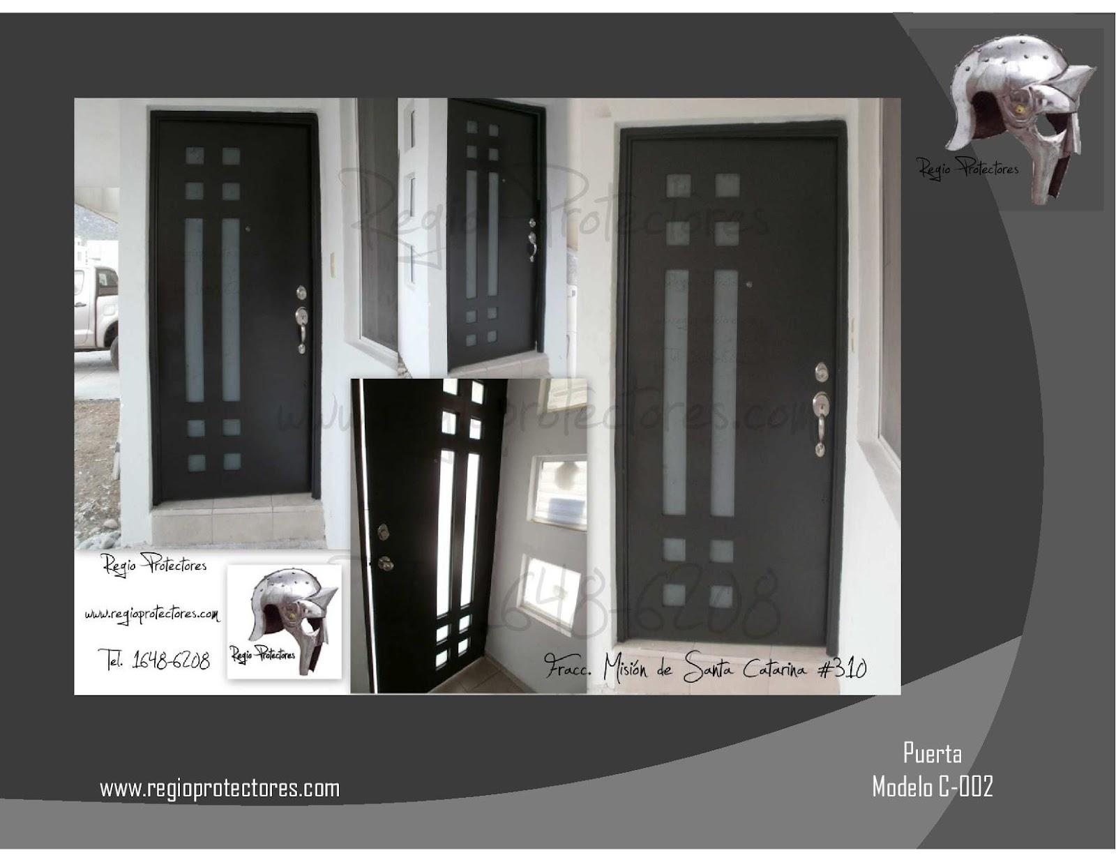 Catalogos de puertas de herreria puertas peatonales for Catalogo de puertas de madera pdf