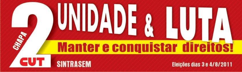 UNIDADE E LUTA - CHAPA 2