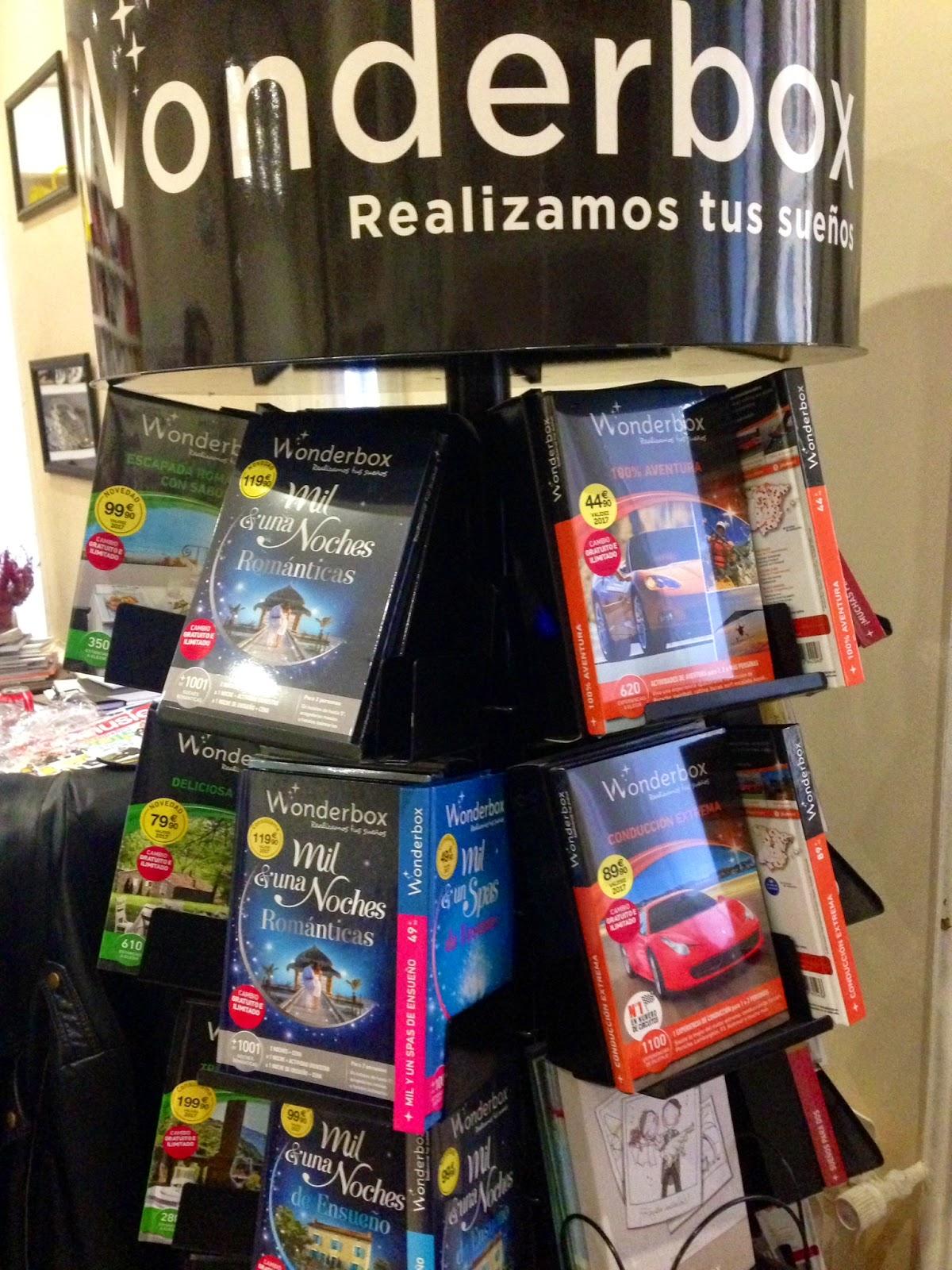 Wonderbox realiza tus sueños