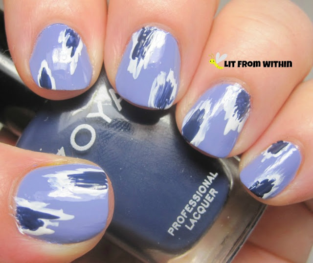 lovely and easy Zoya Sailor.