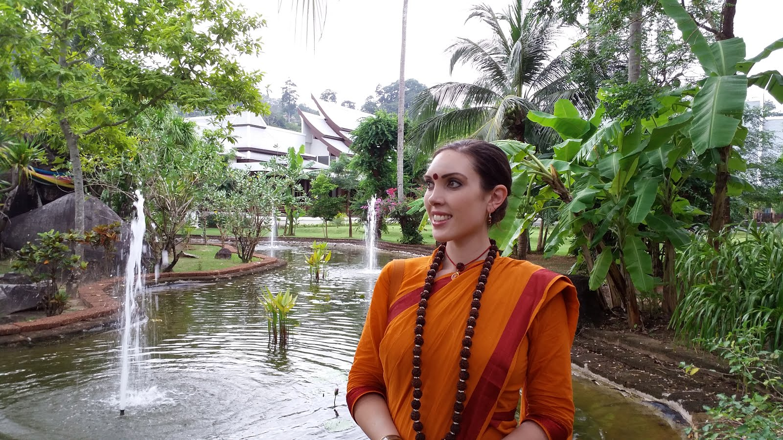 Filming a YouTube video about Inner Awakening in Thailand