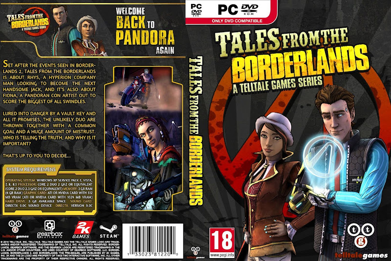 Capa Tales From The Borderlands PC