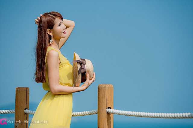 3 Cha Sun Hwa Outdoor Teaser-Very cute asian girl - girlcute4u.blogspot.com