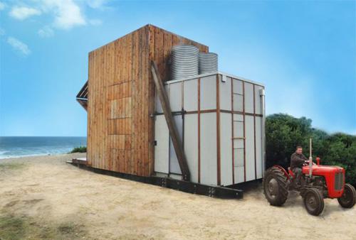 Casa de praia minimalista