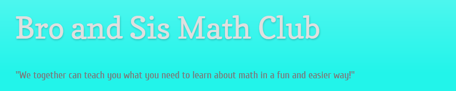 MS math blog