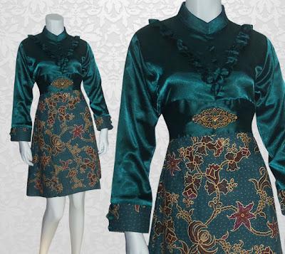 Model Baju Batik Terbaru 4
