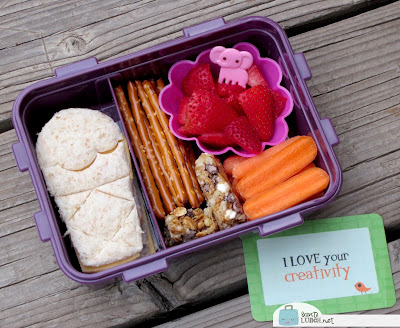 BentoLunch.net - First Day of School Bento for My Girl