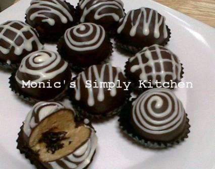 coklat truffle biskuit