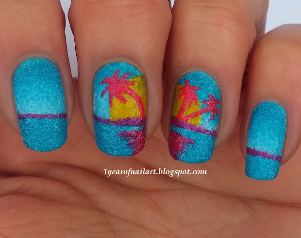 365 days of nail art swatches
