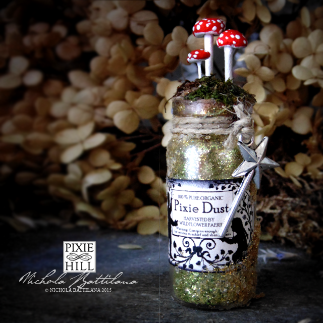 Bottled pixie dust and moonbeams - Nichola Battilana