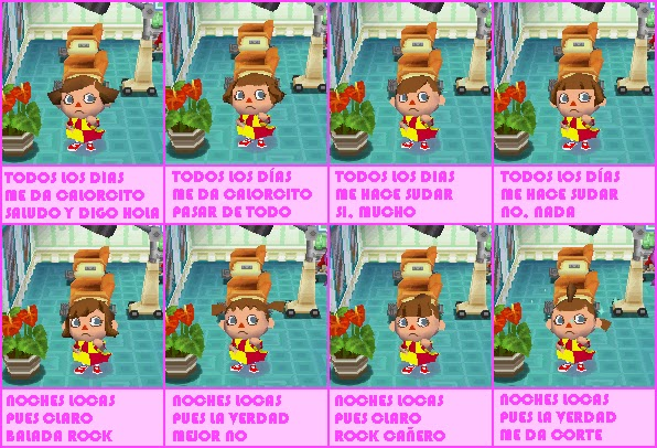 Peinados De Animal Crossing Wild World - Mi rincón sobre Animal Crossing Wild World CORTES DE