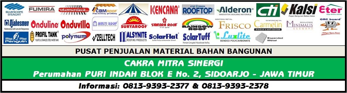 02 | Material Bahan Bangunan Proyek Indonesia