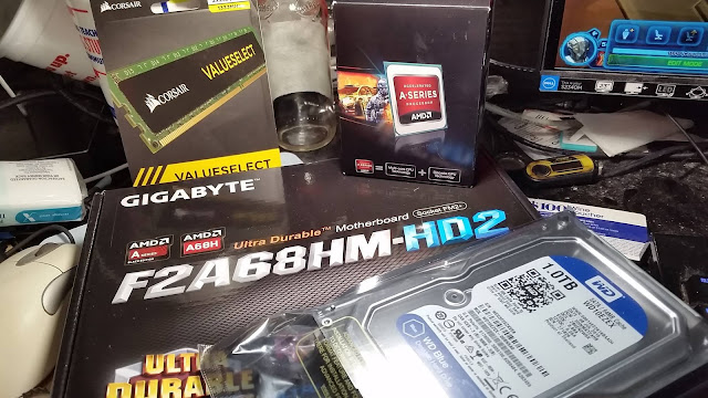 Parts for my new Extreme Budget PC