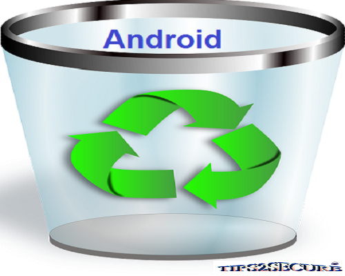 Recycle bin app for android devices