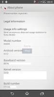 Sony D6503 firmware info