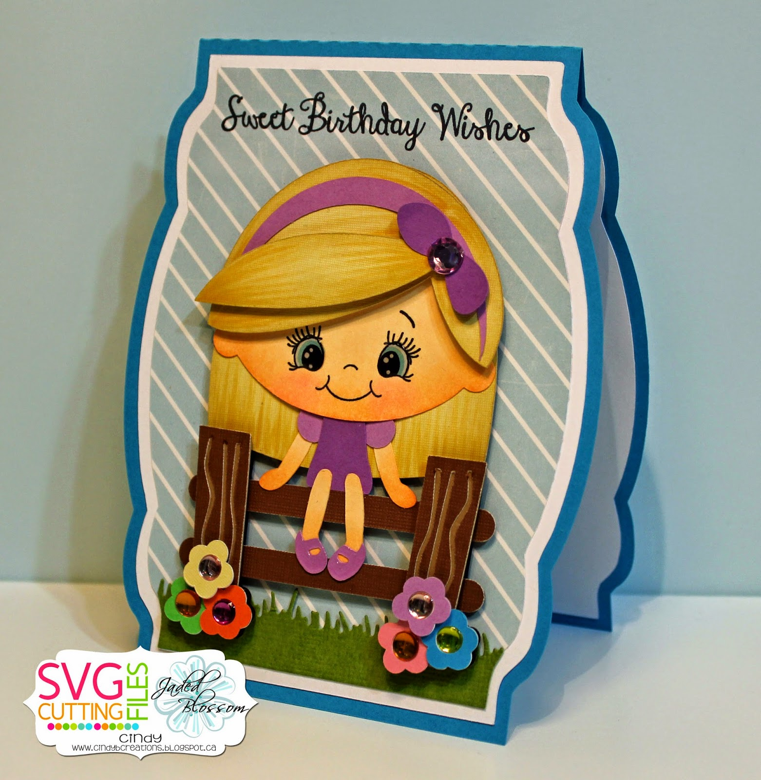 SVG Cutting Files: Sweet Birthday Wishes