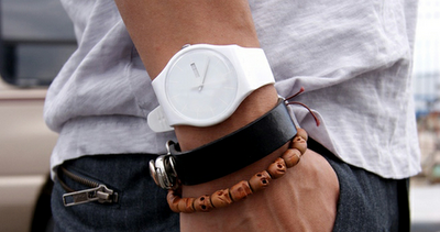 White Rebel Watch from Swatch Originals