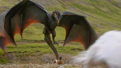 Drogon 4 temporada juego de tronos - Juego de Tronos en los siete reinos