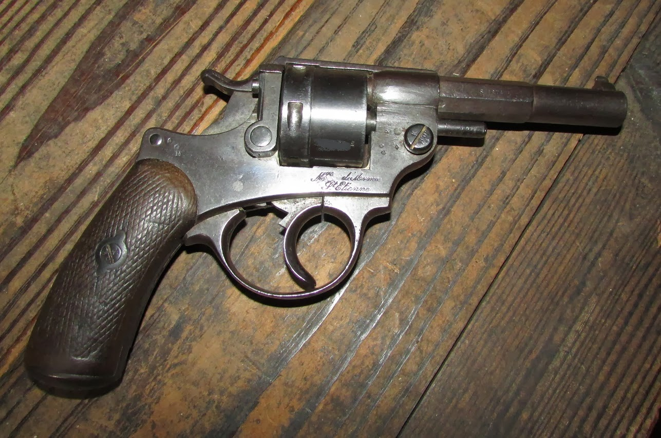 Mas mle 1873 french ordnance revolver they were issued in the white