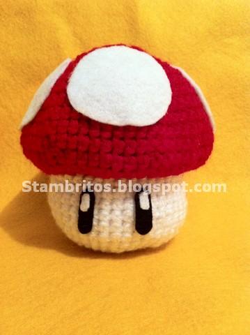 Amigurumi Hongo Mario Bros : Stambritos Inc: Super Mario, Vida Extra ...