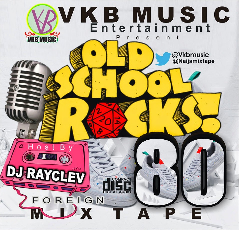MIXTAPE:OLD SCHOOL ROCKS 80's