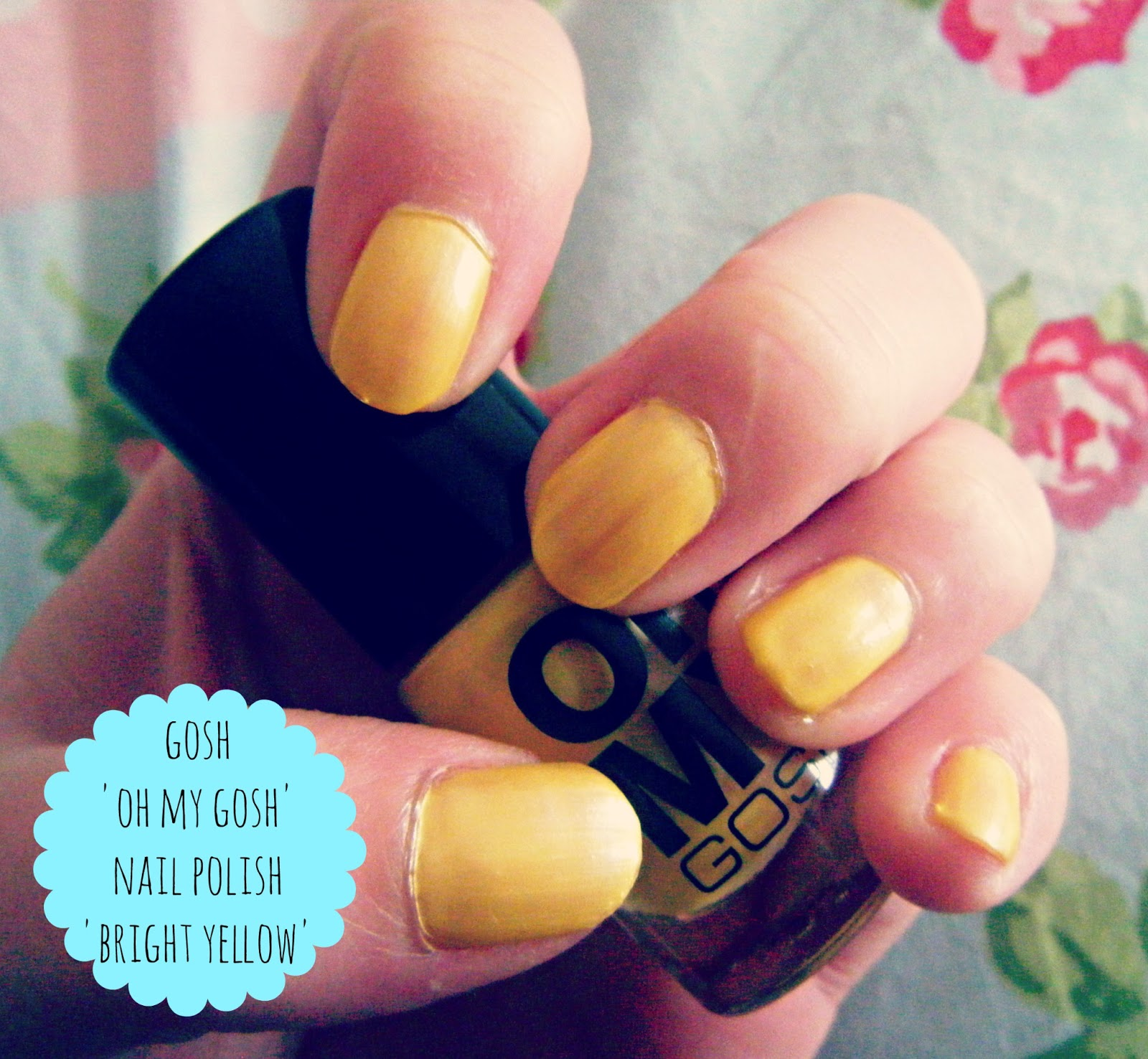 GOSH 'Oh My GOSH' Nail Polish In 'Bright Yellow