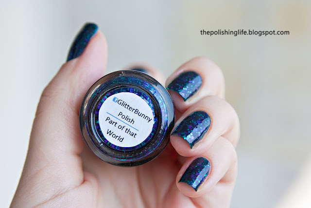 Glitter Bunny - Part of that world swatches and review