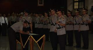 Ike Edwin Resmi Jabat Kapolda Lampung