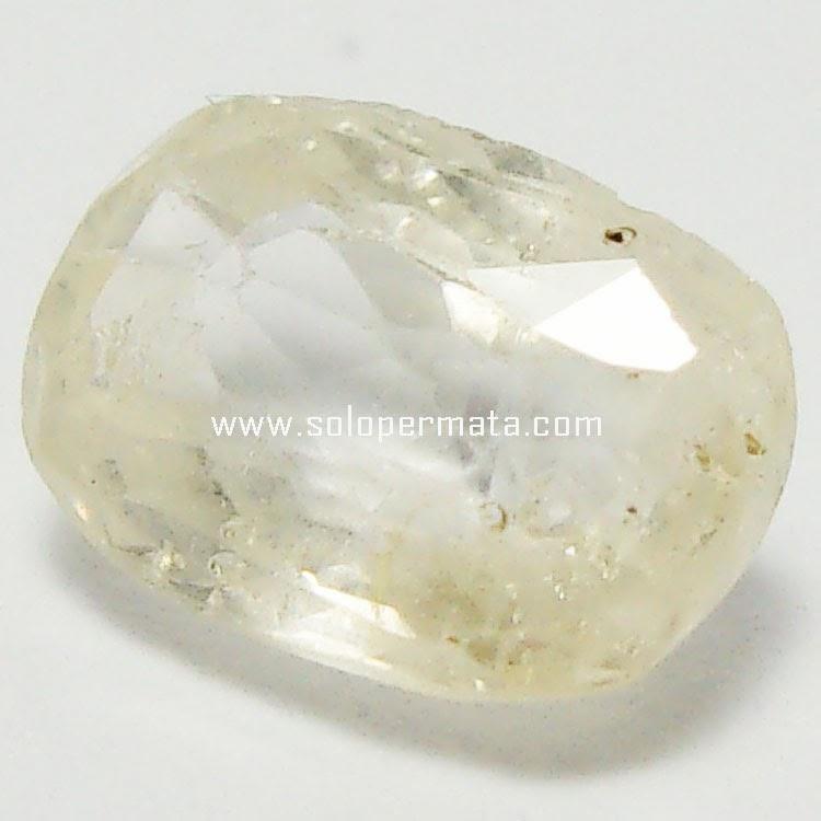 Batu Permata White Sapphire - 29A02
