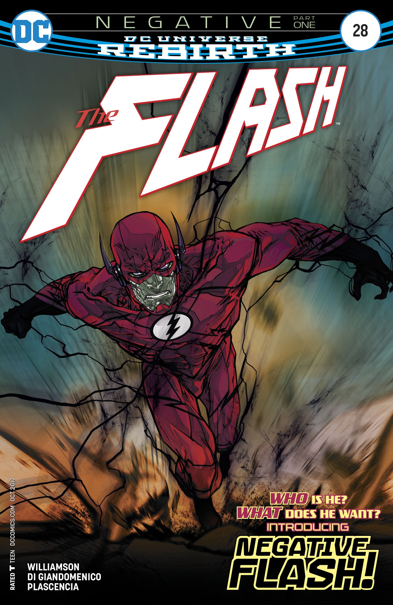 The Flash (2016) issue 28 - Page 1