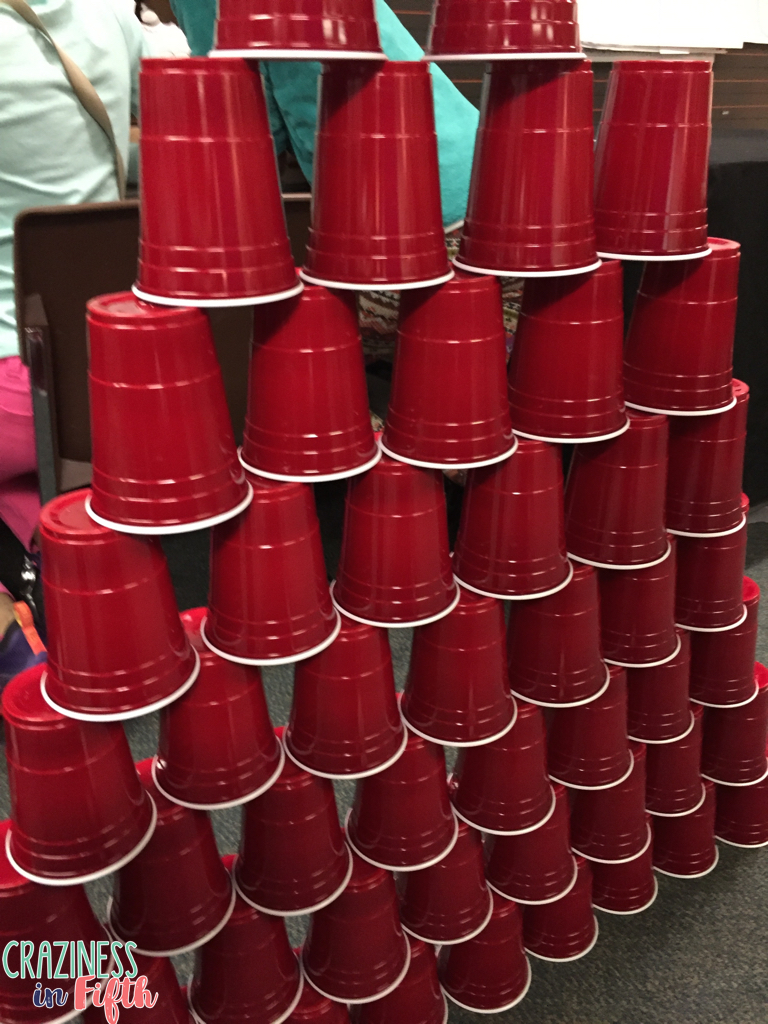 They Each Counted How Many Cups They Used And I Recorded That Data On  The Board The Students Were Responsible For Finding The Mean, Median,  Mode,